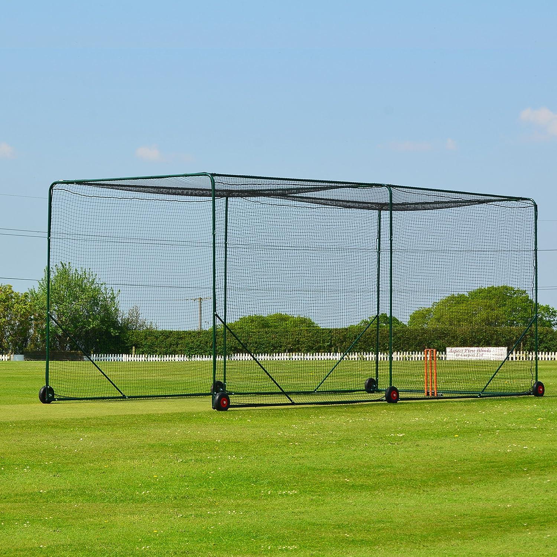 amazon com fortress mobile baseball batting cage become the