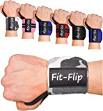 2x Profi Handgelenk Bandagen | Wrist Wraps in 15 Farben, Handgelenkstütze in Premium Qualität für Kraftsport und Bodybuilding, Handgelenkbandage fitness