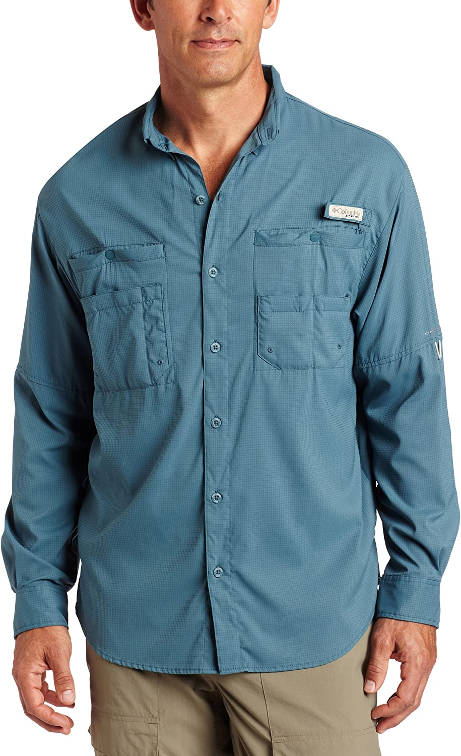 Popular product Columbia Men's Plus Tamiami II Long Sleeve X- Tidewater Shirt - High quality new