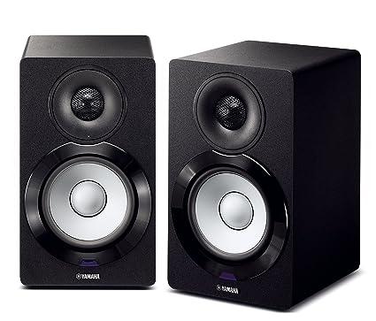 Yamaha NX N500BL Bookshelf Monitor Speaker System Black