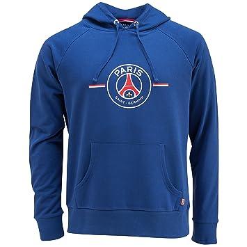 Paris Saint Germain - Sudadera oficial con capucha para hombre, talla de adulto azul azul Talla:extra-large: Amazon.es: Deportes y aire libre