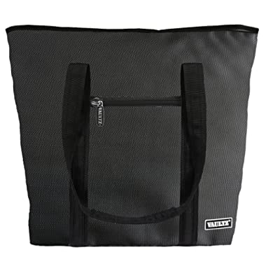 Vaultz Locking Cooler Bag, 7.5 x 15 x 20.5 Inches, Black (VZ03507)