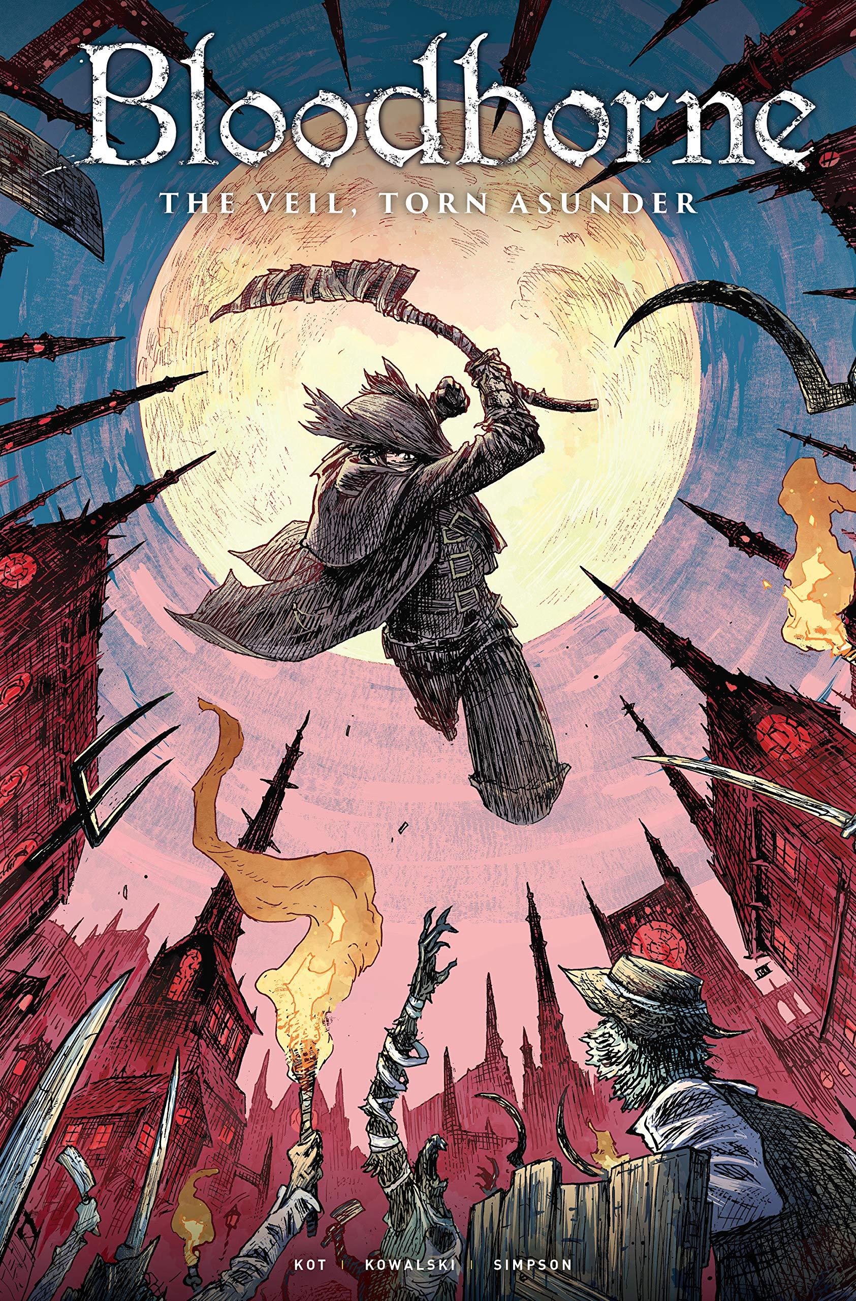 Bloodborne Volume 4: The Veil, Torn Asunder: Ales Kot, Piotr ...
