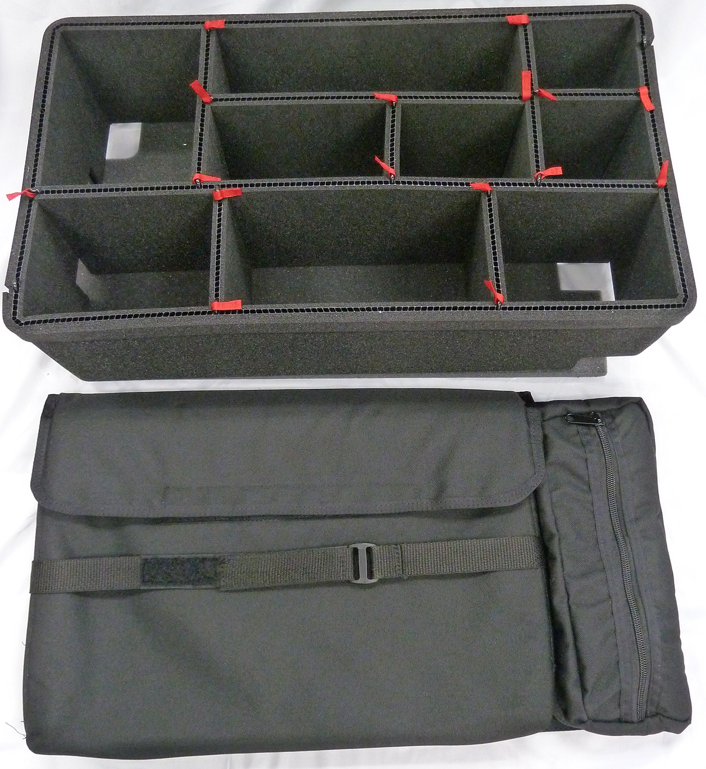TrekPak Divider System to fit the Pelican 1510 case & 1510SC Computer Lid pouch. by CVPKG & Pelican (Image #1)