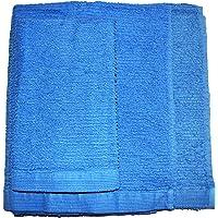 Exotic Cotton Juego de Toallas de Baño M 70 x 140 cm 100% Algodón – 3 Piezas de Secado Rápido – Toalla de Cara 30x50 cm…
