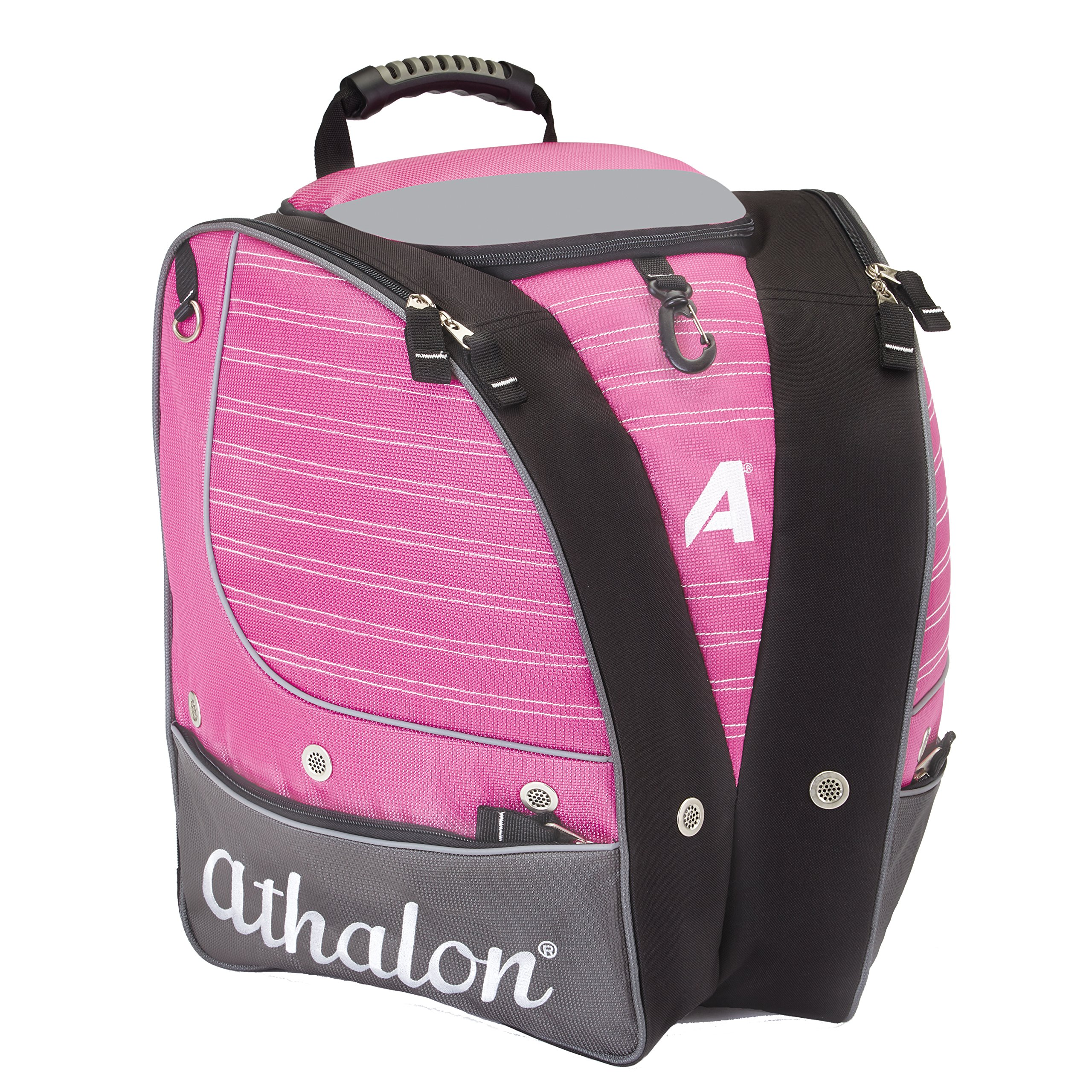 Athalon PERSONALIZEABLE ADULT BOOT BAG/BACKPACK - SKI - SNOWBOARD - HOLDS EVERYTHING - (BOOTS, HELMET, GOGGLES, GLOVES) by Athalon
