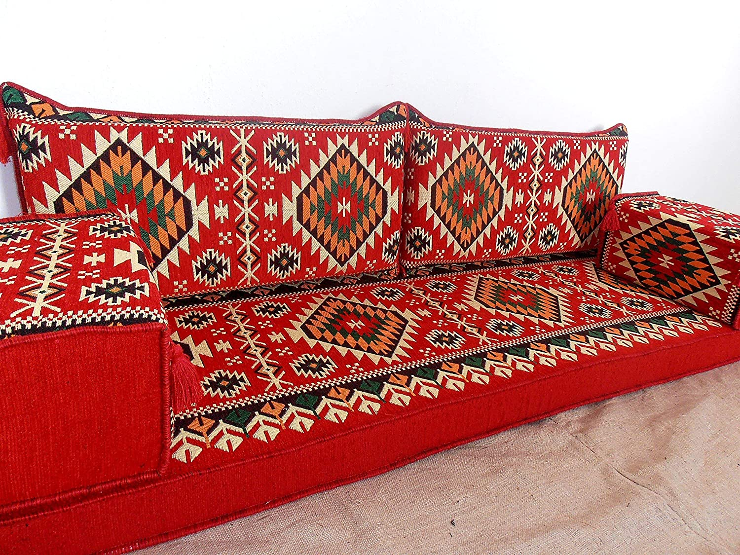 furniture,oriental seating,arabic seating,floor couch,floor cushions,arabic jalsa,majlis,hookah bar decor - MA 54