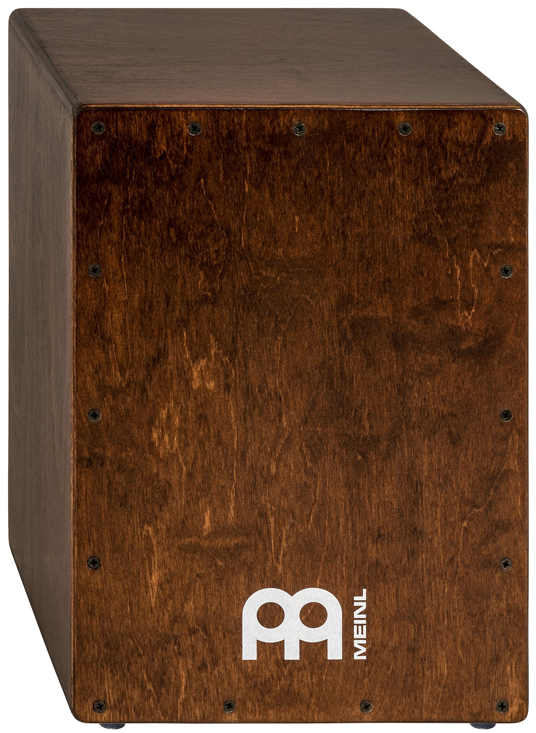 Meinl Percussion Cajon Box Drum with Internal Snares - MADE IN EUROPE - Baltic Birch Wood Compact Size, 2-YEAR WARRANTY (JC50BR)