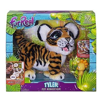 FurReal Friends - Tyler, mi Tigre jugueton (Hasbro B9071175) (versión en alemán