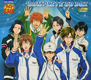 Musical Prince Of Tennis Complete Box Musical Prince Of Tennis