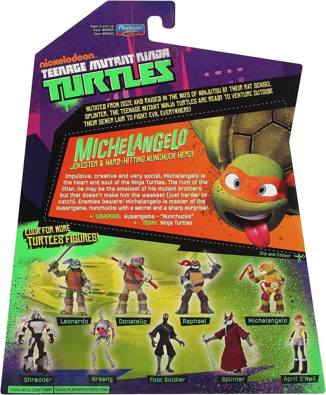 Amazon.com: Teenage Mutant Ninja Turtles Michelangelo: Toys ...