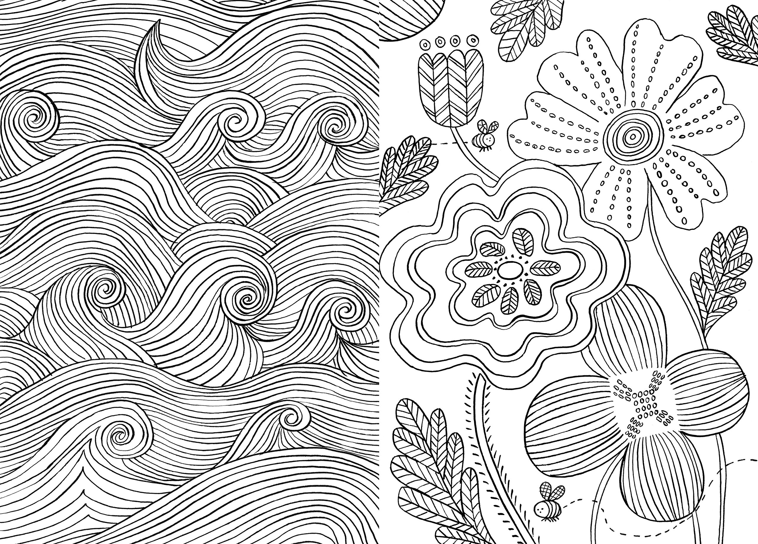 Colouring books for adults vancouver - The Mindfulness Colouring Book Anti Stress Art Therapy For Busy People Emma Farrarons 9780752265629 Books Amazon Ca