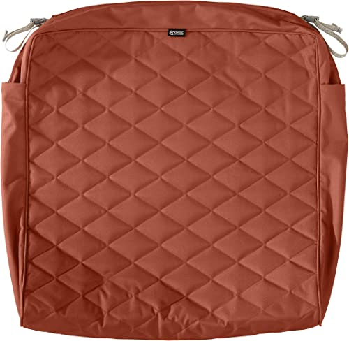 Deal of the week: Classic Accessories Montlake Water-Resistant 25 x 27 x 5 Inch Patio Quilted Seat Cushion