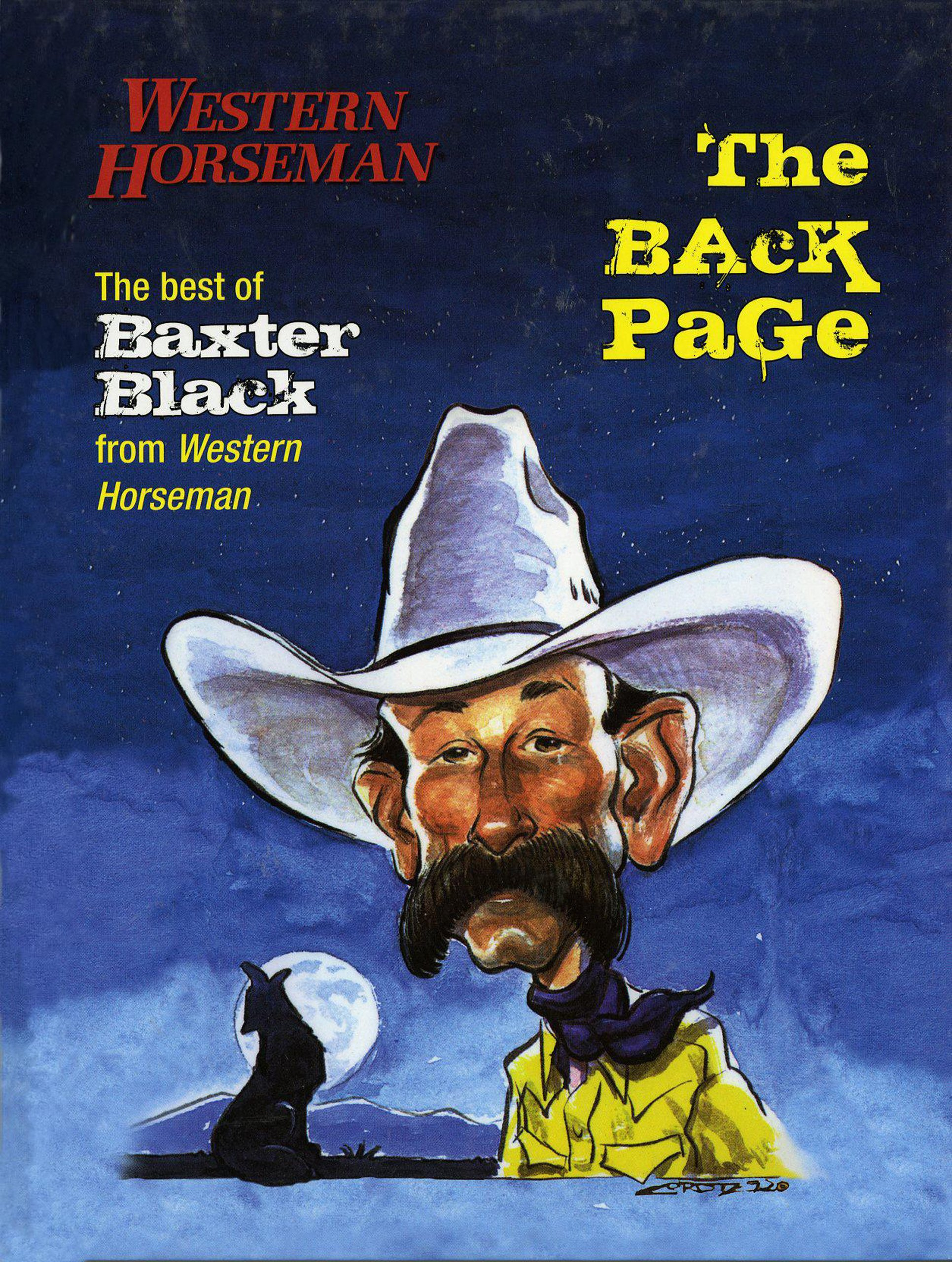 Download Back Page: The Best Of Baxter Black From Western Horseman Revised PDF