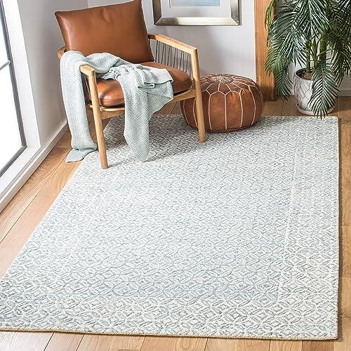 Safavieh Abstract Collection ABT342N Handmade Wool Area Rug