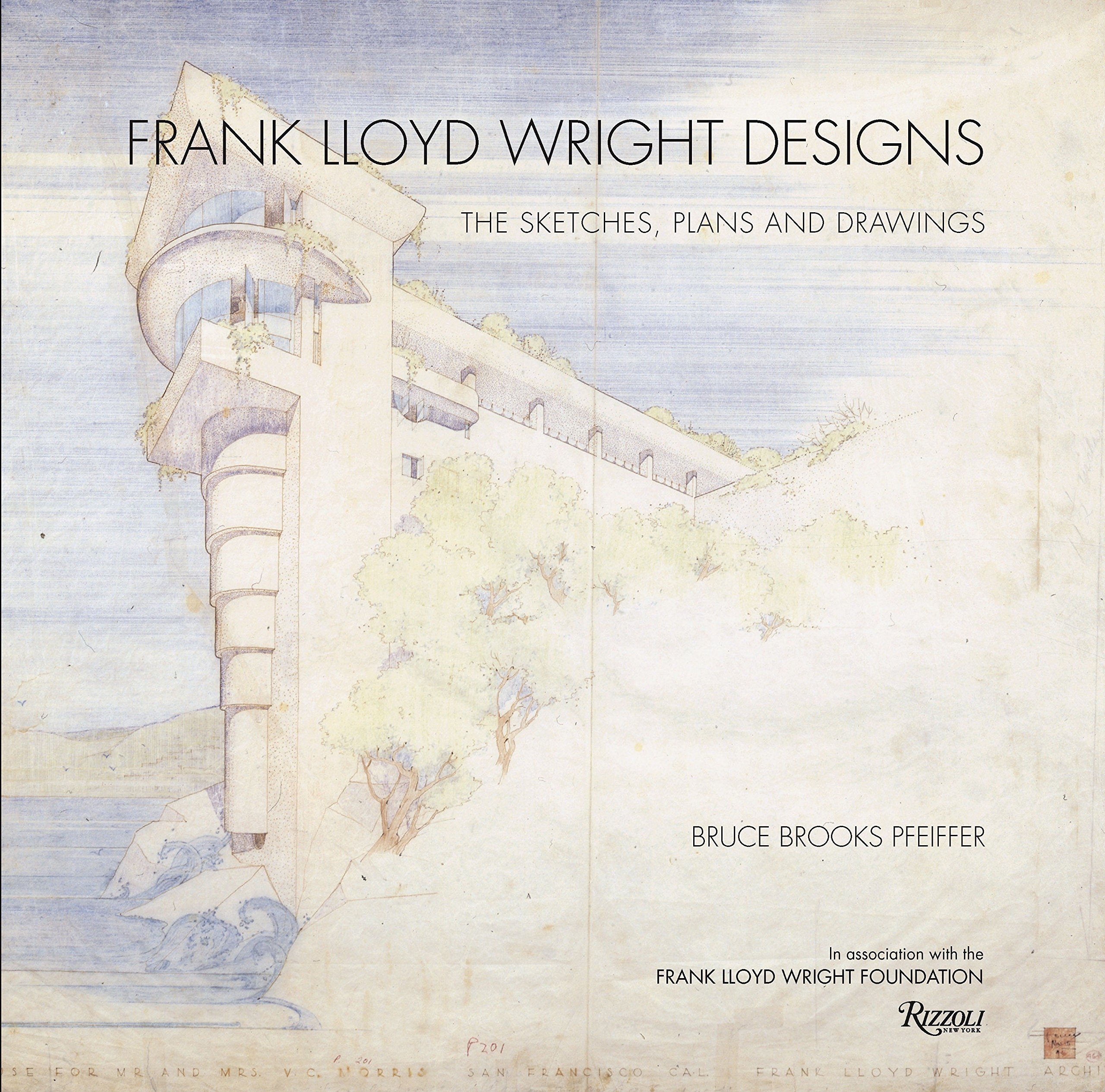 Frank lloyd wright designs the sketches plans and drawings hardcover 1 oct 2011