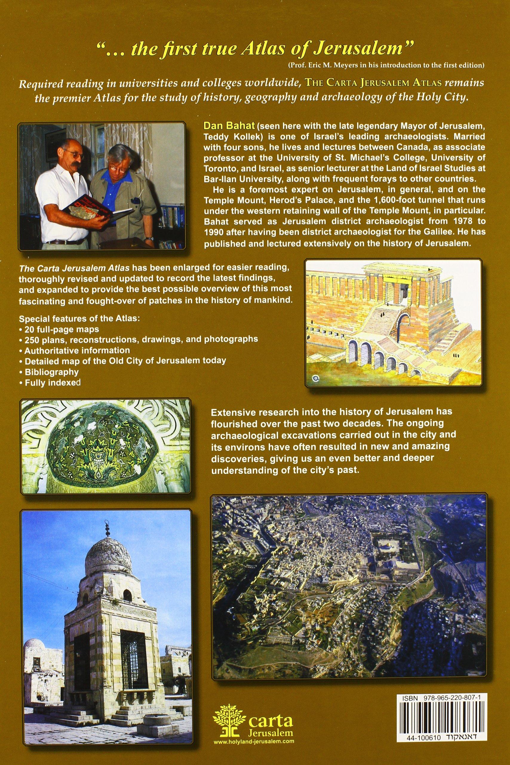 The Carta Jerusalem Atlas (Formerly Illustrated Atlas of Jerusalem)