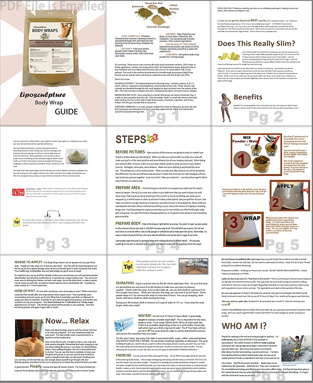 Home Algae Wrap - Features, Step-by-Step Description and Efficiency 45