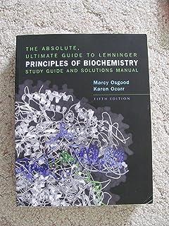 Lehninger Principles Of Biochemistry David L Nelson Michael M