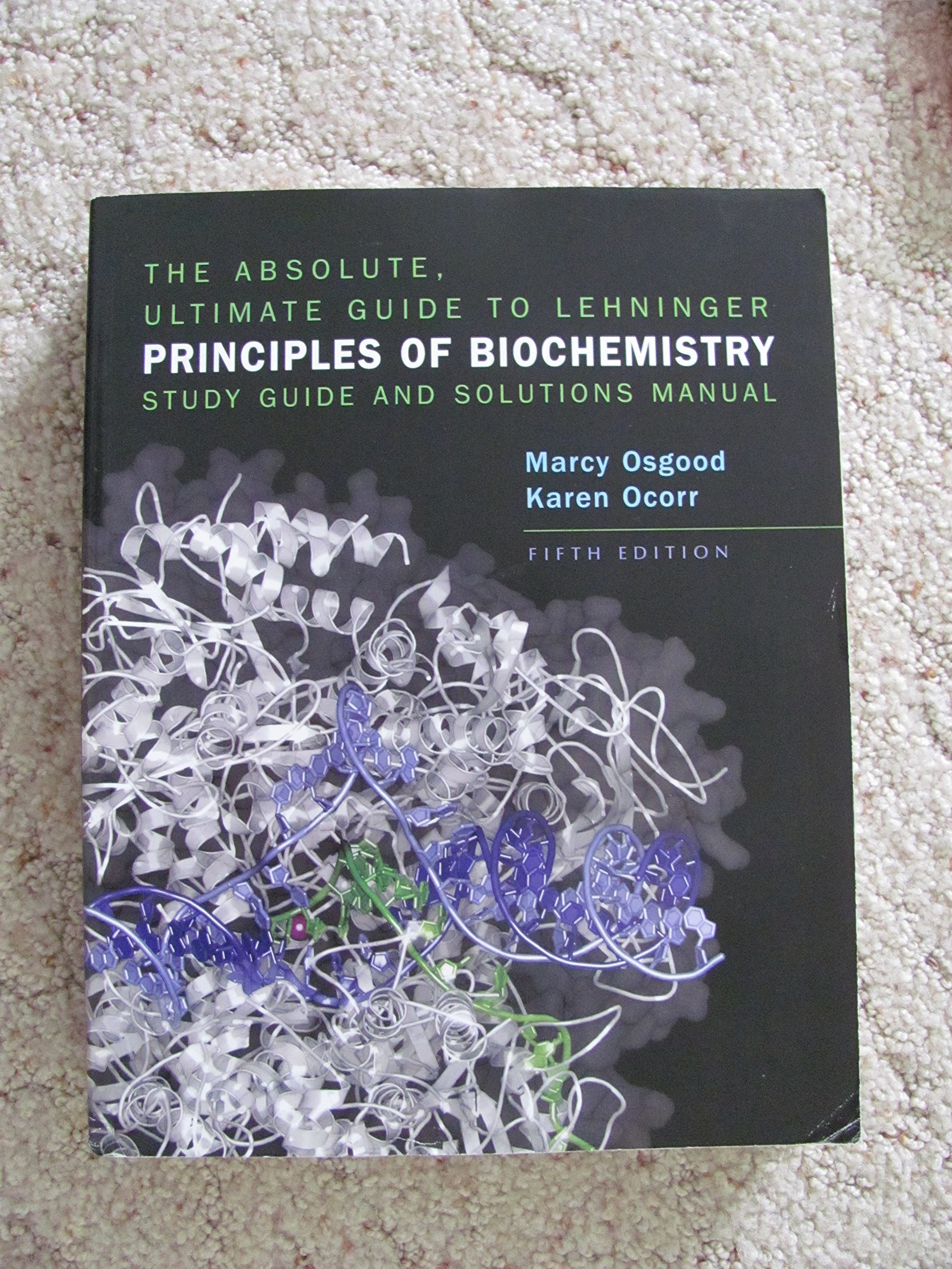 the absolute ultimate guide to lehninger principles of biochemistry rh amazon com Lehninger Biochemistry Test Bank lehninger principles of biochemistry solutions manual 6th edition pdf