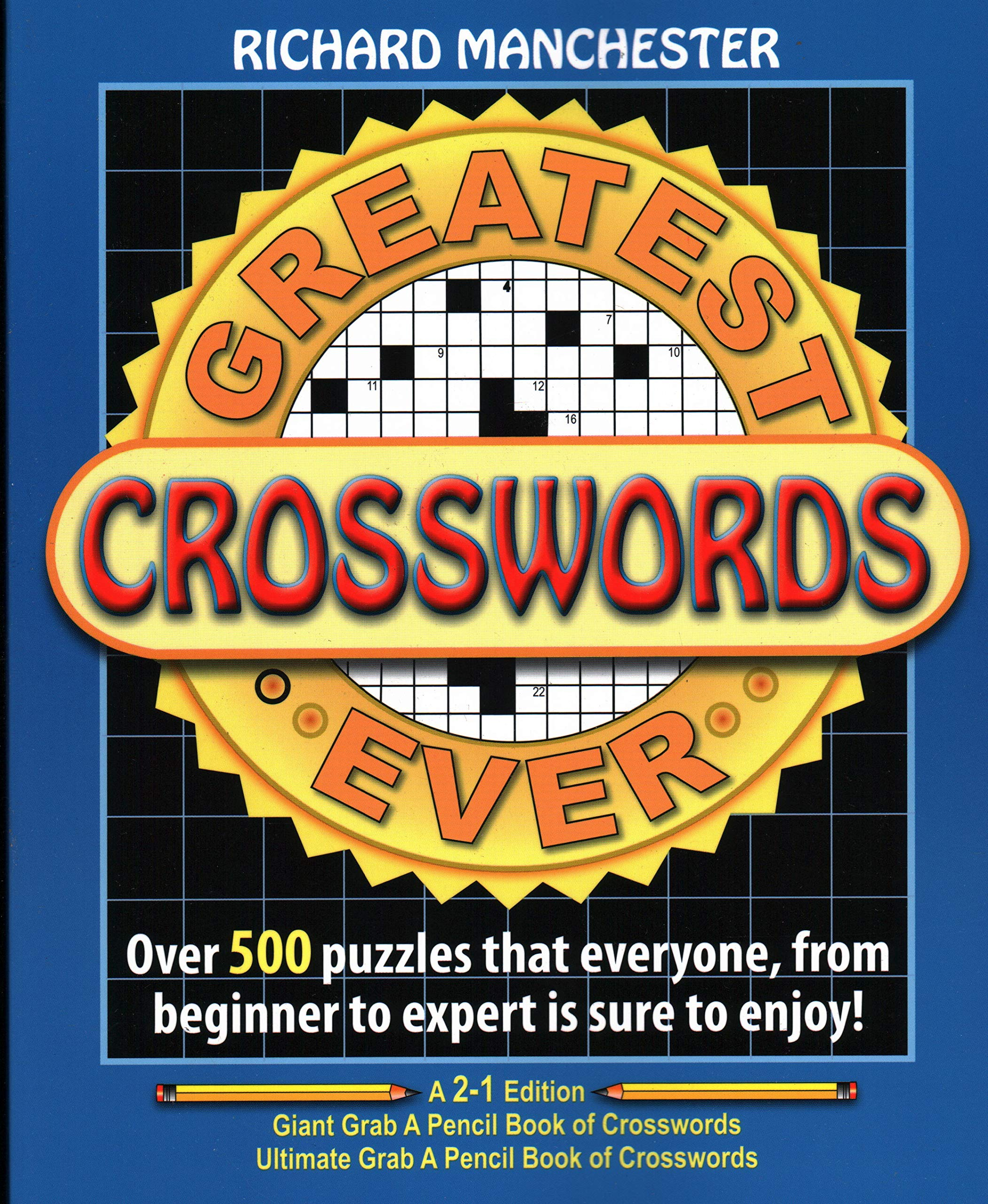 Greatest Crosswords Ever Richard Manchester