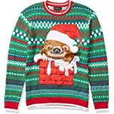 Blizzard Bay Men's Ugly Christmas Sweater Sloths