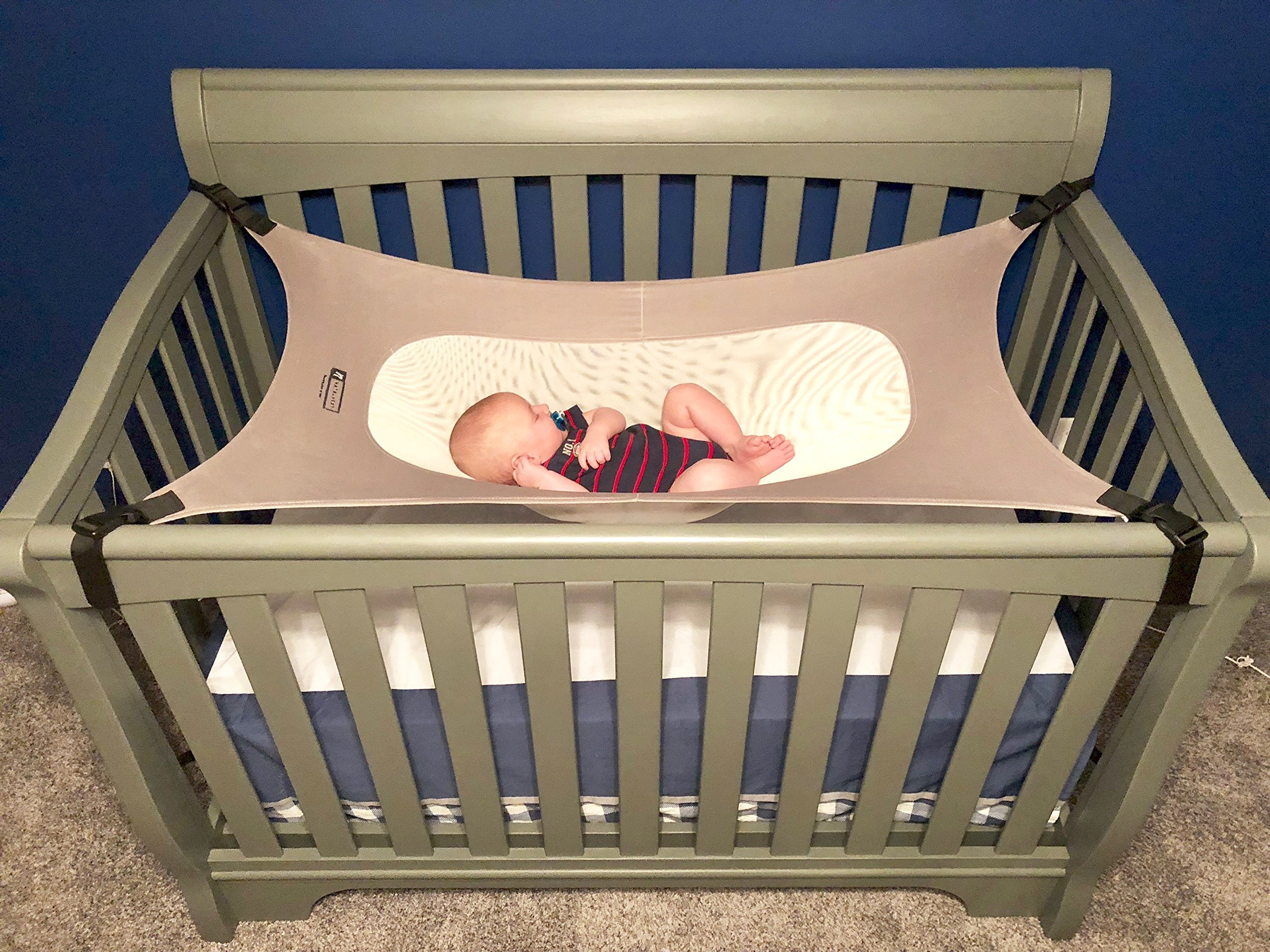 Natal Nest Baby Crib Hammock, Premium Breathable Materials, Quality Ensured Infant Nursery Bed for Infants 0-9 Months.