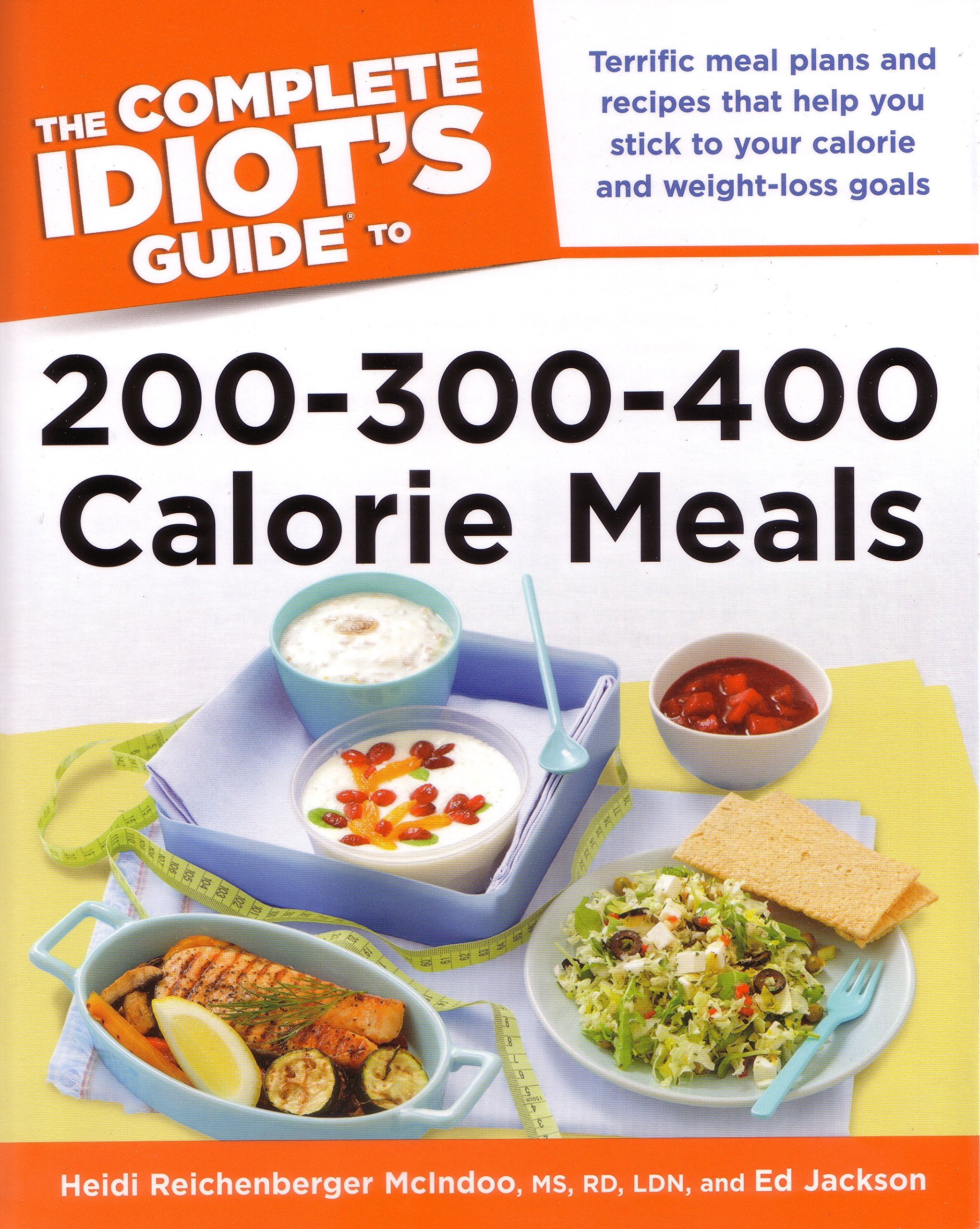 Complete Idiots Guide 200 300 400 Calorie product image