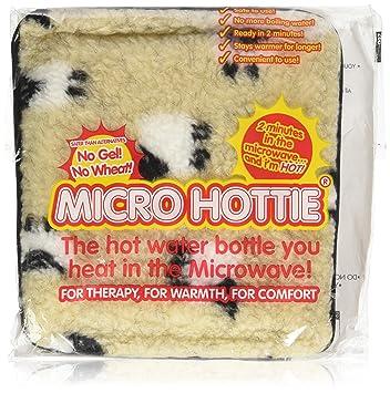 Hotties bolsa de agua caliente para microondas, vellón, de ...