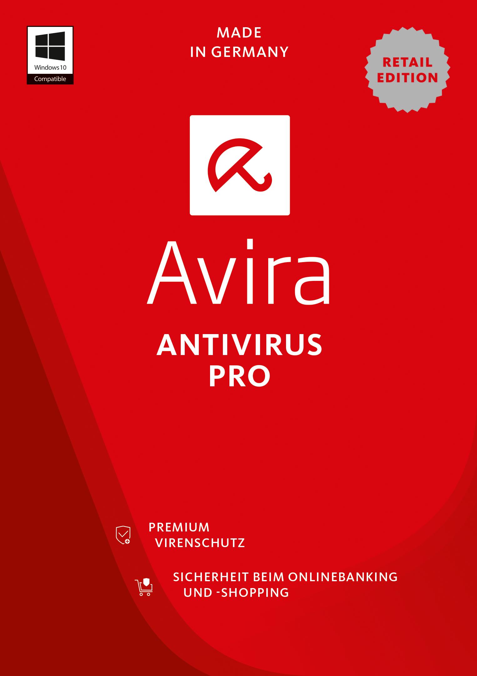 Avira Antivirus Pro 2017  - 1 Gerät / 1 Jahr [Online Code]