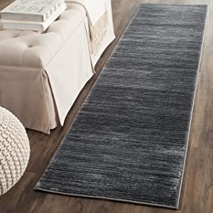 Safavieh Vision Collection VSN606D Modern Ombre Tonal Chic Non-Shedding Stain Resistant Living Room Bedroom Runner, 2'2