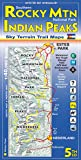 Southern Rocky Mountain National Park & Indian Peaks Wilderness Trail Map, 4th Edition