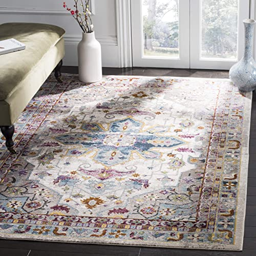 Safavieh Aria Collection ARA160C Area Rug, 9 x 12 , Cream Multi