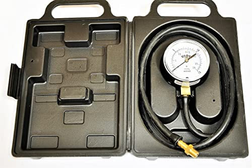 Natural Gas LPG Propane Furnace and Other Apliance Manifold Line Low Pressure Gauge Manometer Kit Tester Capacity 15 Inch Wc Water Culomn Plumbing Plumber Diagnosis Repair Sevice Tool