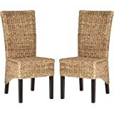 Safavieh Home Collection Kiska Natural Dining Chair (Set of 2)