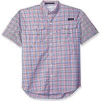 Columbia PFG Super Bahama Camisa de Manga Corta para Hombre, Transpirable, protección UV