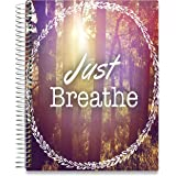 Planner 2018-2019 Academic Year Calendar - 8.5 x 11 Hardcover - 15 Months Dated April 2018 to June 2019 - Daily Weekly Monthly Spiral Planner with Stickers - Pages in Color | by Tools4Wisdom Planners