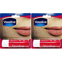 Vaseline Lip Therapy Stick with Petroleum Jelly - 2 Pack (Rosy Lips)