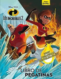 Libro de pegatinas: Con pegatinas reutilizables (Disney. Los Increíbles