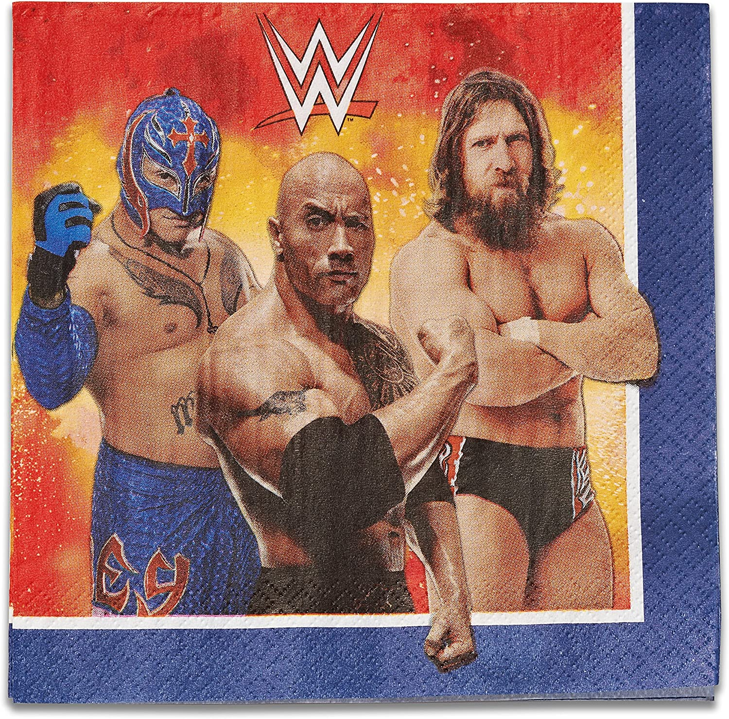 American Greetings WWE Lunch Napkins (16 Count)