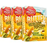 Tiny But Mighty Butter Heirloom Popcorn - for the Microwave, Pack of 3