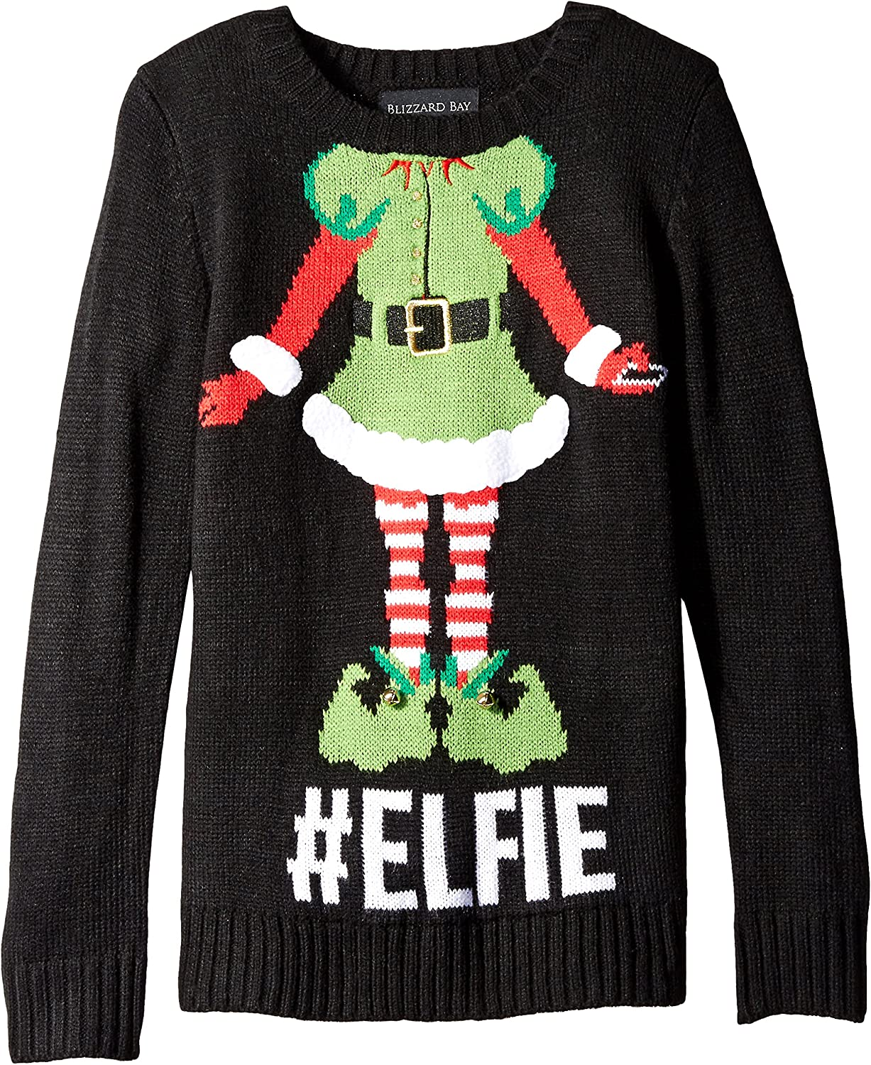 Blizzard Bay Girls' Elfie Christmas Sweater