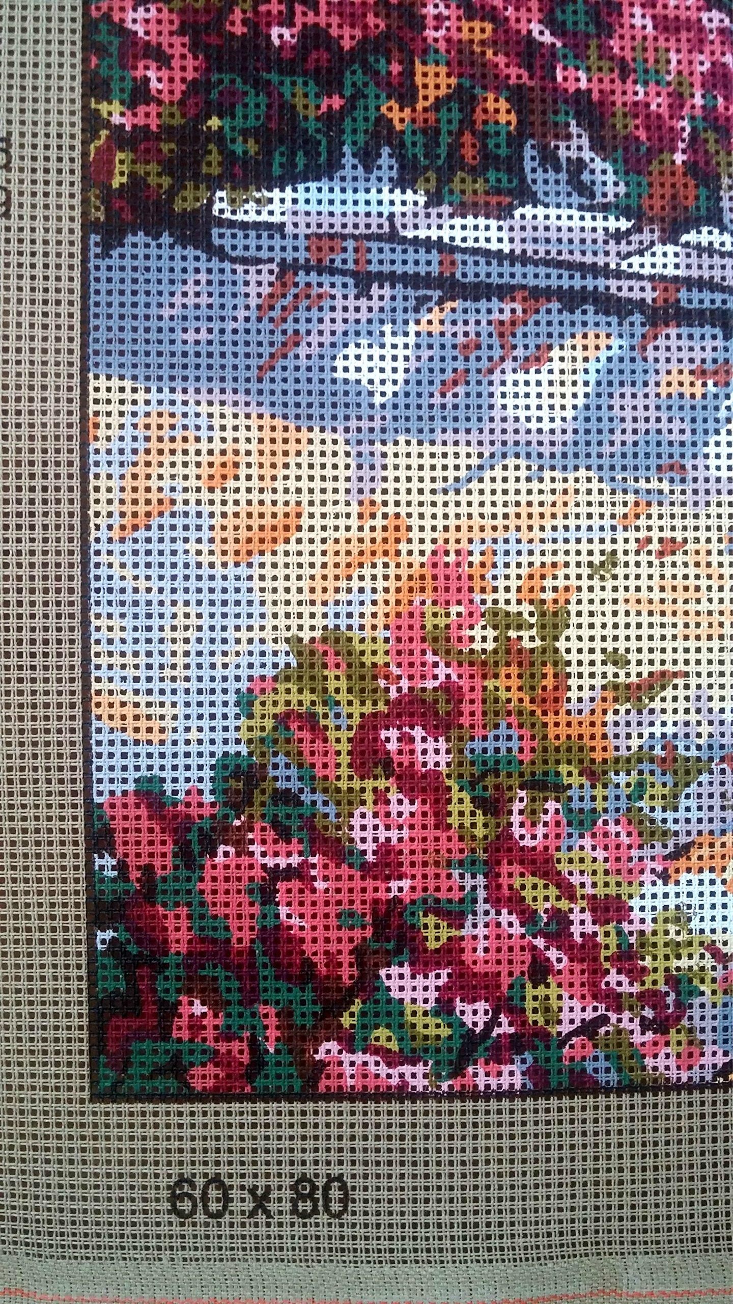 hudemas Needlepoint Kit The Church 15.7x11.8 40x30cm Printed Canvas 222
