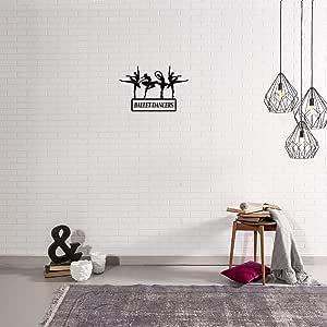 Handmade Metal Wall Art,Black