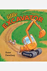 Little Excavator Hardcover