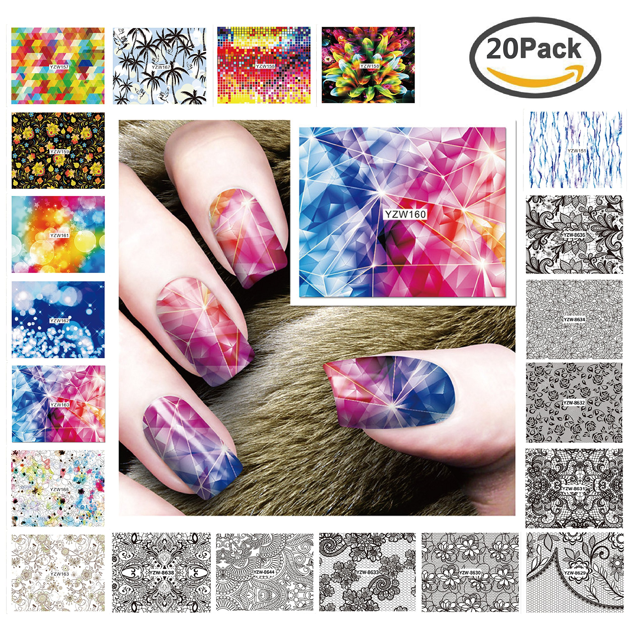 Amazon.com: Professional environmental nail stickers, infants ...