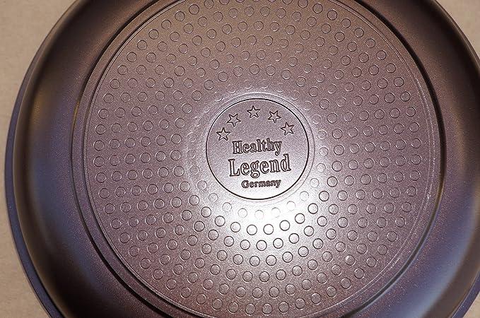 Third Generation Healthy Legend 10 pcs Set Non-stick German Weilburger Ceramic Coating Cookware Set - Eco Friendly, Non-toxic by Healthy Legend: Amazon.es: ...