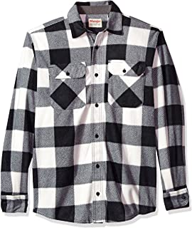 3fe44dfe Wrangler Authentics Men's Long Sleeve Flannel Shirt at Amazon Men's ...