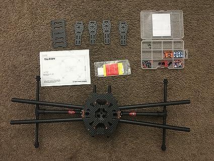 Tarot Iron Man 650 Foldable 3K Carbon Fiber Quadcopter Frame