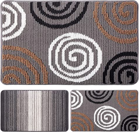 """Area Entry Rugs for Indoor /& Oudoor 31/"""" x 19/"""" Large Size Soft Floor Mat Carpet"""